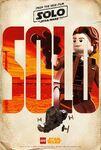 LEGO Solo poster - Solo