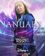 Princess January Poster