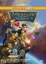 Treasure Planet 2003 AUS DVD Second