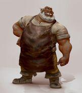 Xavier the Blacksmith by Dan Cooper