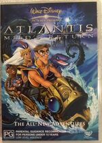 Atlantis- Milo's Return 2003 AUS DVD First