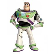 Buzz lightyear pose