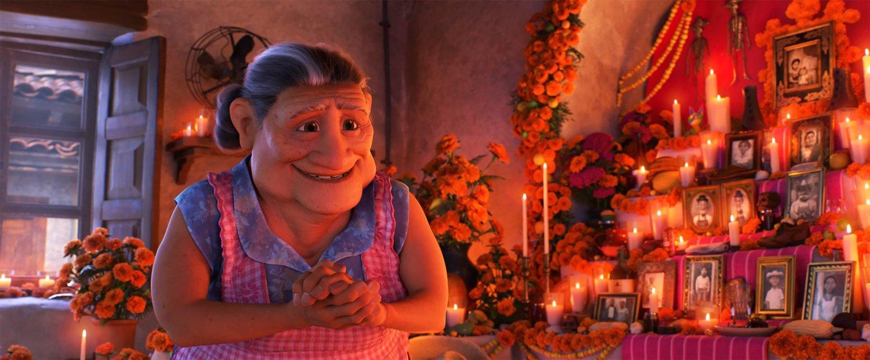 Coco Abuelita At The Ofrenda