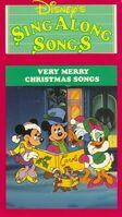 DisneysVeryMerryChristmasSongs VHS 1988