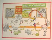 Dumbo's Circus Land Concept Art (8)