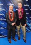 John Musker & Ron Clements Moana premiere