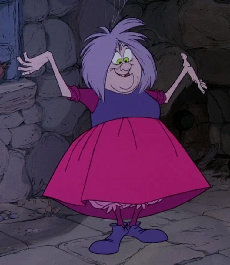 Madam Mim Disney Wiki FANDOM