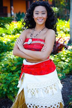 Moana at the Disney Polynesian Resort