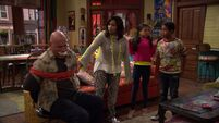 Raven's Home - 1x03 - The Baxters Get Bounced - Jablonski Tied Up