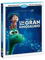 The Good Dinosaur Blu-Ray and DVD México