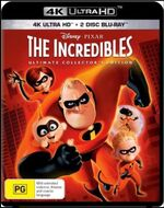 The Incredibles 2018 AUS Blu Ray 4K