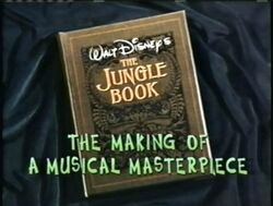 The Jungle Book The Making of a Musical Masterpiece Title Card