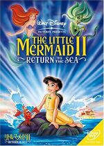 The Little Mermaid II 2006 Japan DVD