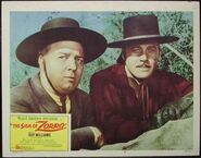 The sign of zorro lobby card