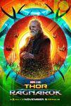 Thor Ragnarok Odin Poster