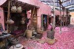 Aladdin - Agrabah Market set