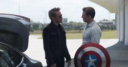 Avengers Endgame - Tony and Steve