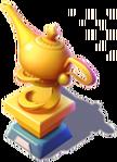 D-golden lamp trophy