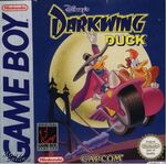 Darkwing Duck Game Boy Cover