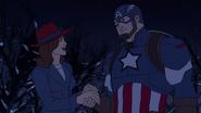 Steve & Peggy Avengers Secret Wars 06