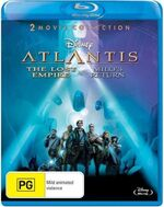 Atlantis- The Lost Empire + Milo's Return 2013 AUS Blu Ray