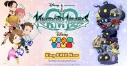 Kingdom Hearts Tsum Tsum Promotion