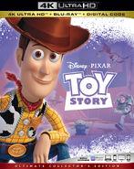 Toy Story 4KUHD Bluray
