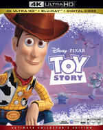 Toy Story 4KUHD Bluray