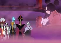 Villanos atacan Mickey