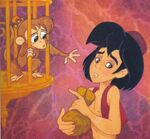 Aladdin and Abu Tales From Agrabah