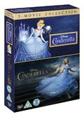 Cinderella Live Action Animated Box Set UK DVD