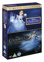Cinderella Live Action Animated Box Set UK DVD