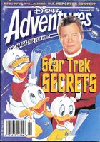 Disney adventures magazine cover January 1995 star trek william shatner