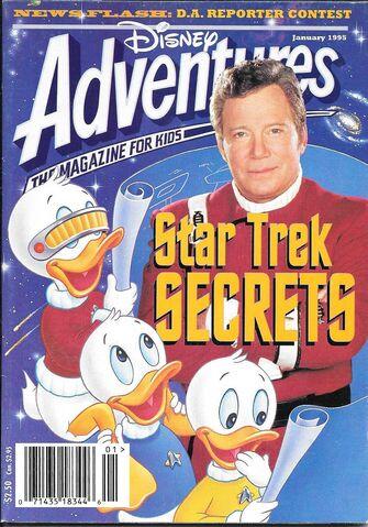 File:Disney adventures magazine cover January 1995 star trek william shatner.jpg