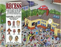 Disneyonesaturday-characters-recess