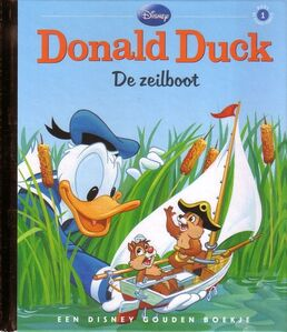 Donald Duck - De zeilboot