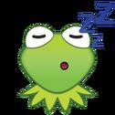 EmojiBlitzKermit-sleep