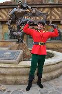 Gaston at Walt Disney World