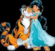 Jasmine with rajah
