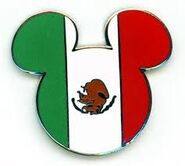 Mexico Flag Pin