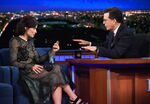 Olivia Wilde visits Stephen Colbert