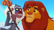 Simba and Rafiki Lion Guard