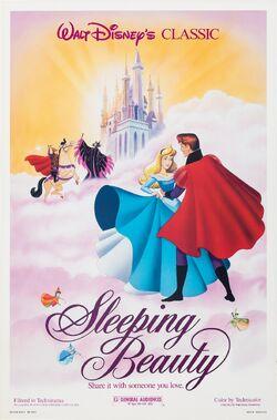 SleepingBeauty19591986ReReleasePoster