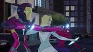 Spider-Man - 3x03 - Vengeance of Venom - Ironheart, Cloak and Spider-Man