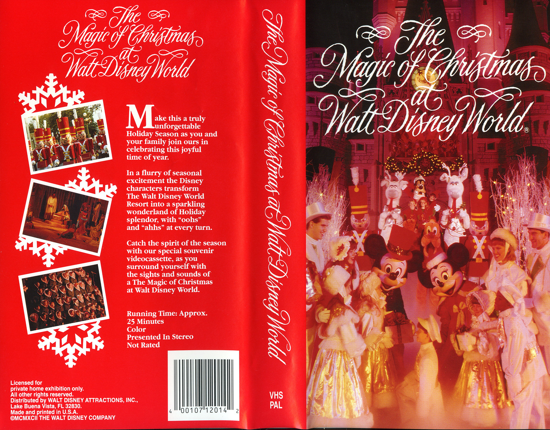 the magic of christmas at walt disney world - A Walt Disney Christmas Dvd