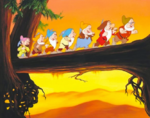 Taking-a-Break-Disney-Style-The-Seven-Dwarfs-from-Snow- 24943481
