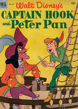428px-WaltDisneysCaptainHook&PeterPan-cover
