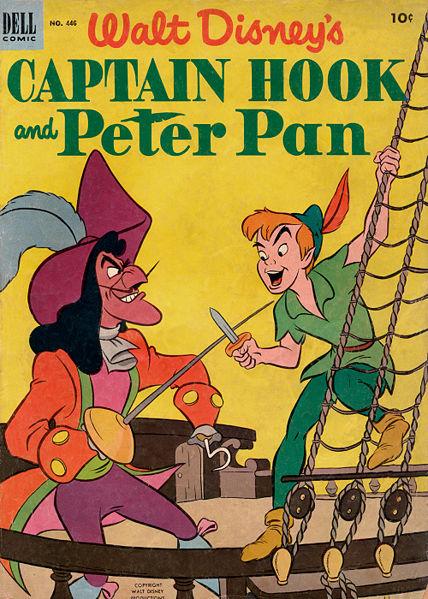 Walt Disney S Captain Hook And Peter Pan Disney Wiki