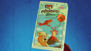 90's Adventure Bear video tape