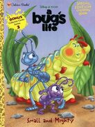 A Bugs Life - Small and Mighty coloring book